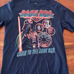 Boys Star Wars T-shirt by Gap Size XS Used